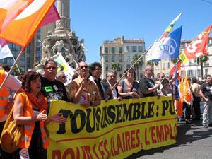 manifestation pour la défense des retraites - Marseille 27 mai 2010