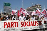 Manifestation à Marseille contre la réforme des retraites proposée par le Gouvernement Sarkozy/Fillon