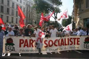 Manifestation Réforme des retraites à Marseille