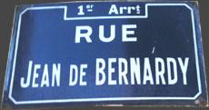 rue jean de Bernardy - Marseille