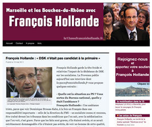 l'après DSK... l'appel à soutenir François Hollande